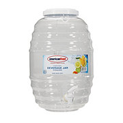 American Maid Clear Beverage Jar with Spigot