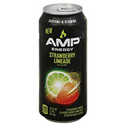 AMP Energy, Strawberry Limeade Drink