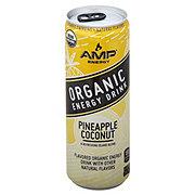 AMP Organic Pineapple Coconut Energy Drink
