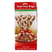 Amscan Gingerbread Treat Tray Bags