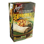 Amy's Bean And Cheese Burrito Club Pack 8 Count