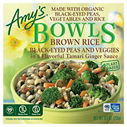 Amy's Brown Rice Black-Eyed Peas and Veggies Bowls