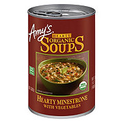 Amy's Hearty Organic Hearty Minestrone With Vegetables Soups