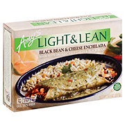 Amy's Light & Lean Black Bean and Cheese Enchilada