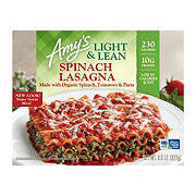 Amy's Light & Lean Spinach Lasagna