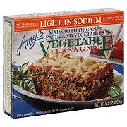 Amy's Low Sodium Vegetable Lasagna