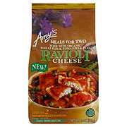 Amy's Meals for Two Cheese Ravioli with Peas