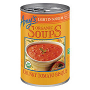 Amy's Organic Light in Sodium Chunky Tomato Bisque Soup