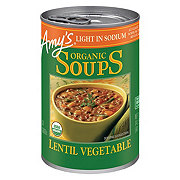 Amy's Organic Light in Sodium Lentil Vegetable Soup