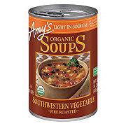 Amy's Organic Light In Sodium Roasted Southwest Vegetable Soup