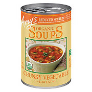 Amy's Organic Reduced Sodium Chunky Vegetable Soup