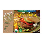 Amy's Sonoma Veggie Burger 4 CT