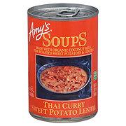 Amy's Thai Curry Sweet Potato Lentil Soup