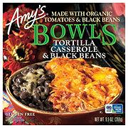 Amy's Tortilla Casserole & Black Beans Bowls