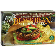 Amys Burger Veggie Black Bean
