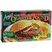 Amys Veggie Burger Quarter Lb.