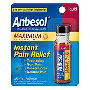 Anbesol Maximum Strength Oral Anesthetic Liquid