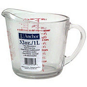 Anchor Anchor Hocking Measuring Cup Glass 4 Cup
