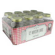 Anchor Hocking 1 QT Home Canning Jar, Bundled Tray
