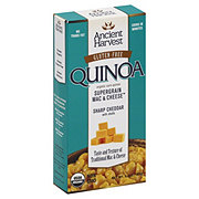 Ancient Harvest Quinoa Supergrain Mac & Cheese Sharp Cheddar with Shells