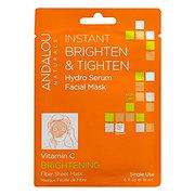 Andalou Naturals Fiber Sheet Mask Brightening