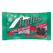 Andes Indulgence Festive Holiday Designs Creme De Menthe Mints