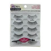 Andrea Modlash Eye Lashes, 5 Pack, 53 Black
