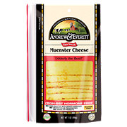 Andrew & Everett Muenster Cheese Slices