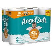 Angel Soft Classic White Mega Roll Toilet Paper