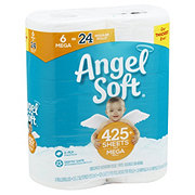 Angel Soft Classic White Mega Roll Toilet Paper