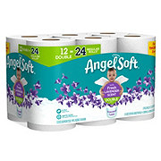 Angel Soft Fresh Lavender Scent Double Roll Toilet Paper