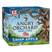 Angry Orchard Crisp Apple Hard Cider 12 oz Bottles