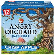 Angry Orchard Crisp Apple Hard Cider 12 oz Bottles