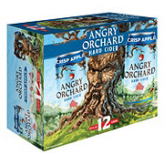 Angry Orchard Crisp Apple Hard Cider 12 PK Cans