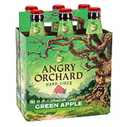 Angry Orchard Green Apple Hard Cider 12 oz Bottles