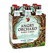 Angry Orchard Hard Cider Easy Apple 12 oz Bottles