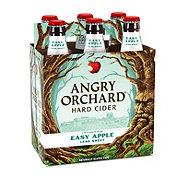 Angry Orchard Hard Cider Easy Apple 12 oz Bottles