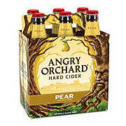 Angry Orchard Hard Cider Pear 12 oz Bottles