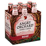 Angry Orchard Rose Cider 12 oz Bottles