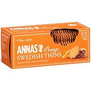 Annas Orange Swedish Thins Cookies