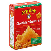 Annie's Homegrown Cheddar Squares Baked Crackers