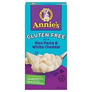 Annie's Homegrown Gluten Free Rice Pasta Shells & Cheddar