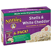 Annie's Homegrown Macaroni Shells & White Cheddar
