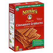 Annie's Homegrown Organic Cinnamon Graham Crackers