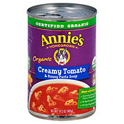 Annie's Homegrown Organic Creamy Tomato & Bunny Pasta Soup