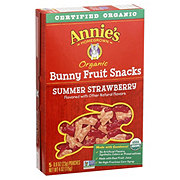 Annie's Homegrown Organic Summer Strawberry Bunny Fruit Snacks