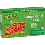 Annie's Homegrown Organic Tropical Treat Bunny Fruit Snacks