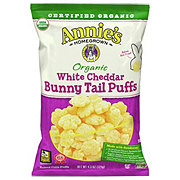 Annie's Homegrown Organic White Cheddar Bunny Tail Puffs