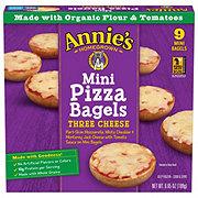 Annie's Homegrown Three Cheese Mini Pizza Bagels