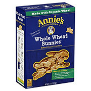 Annie's Homegrown Totally Natural Whole Wheat Bunnies Baked Crackers